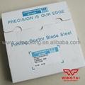 T0 102mm W10mm L200m Sweden UDDEHOLM Stripe Steel Flexo Printing Assembly Doctor Blade