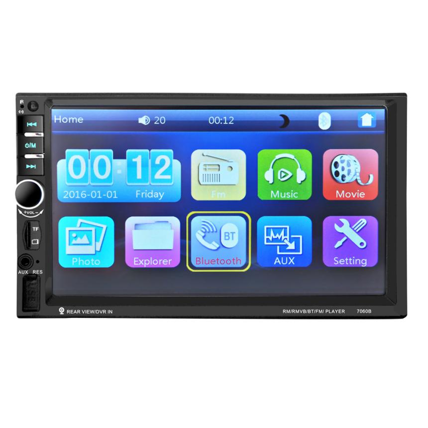 New Arrival 7'' HD Bluetooth Touch Screen Car Stereo Radio 2 DIN FM/MP5/MP3/USB/AUX jn16(China (Mainland))