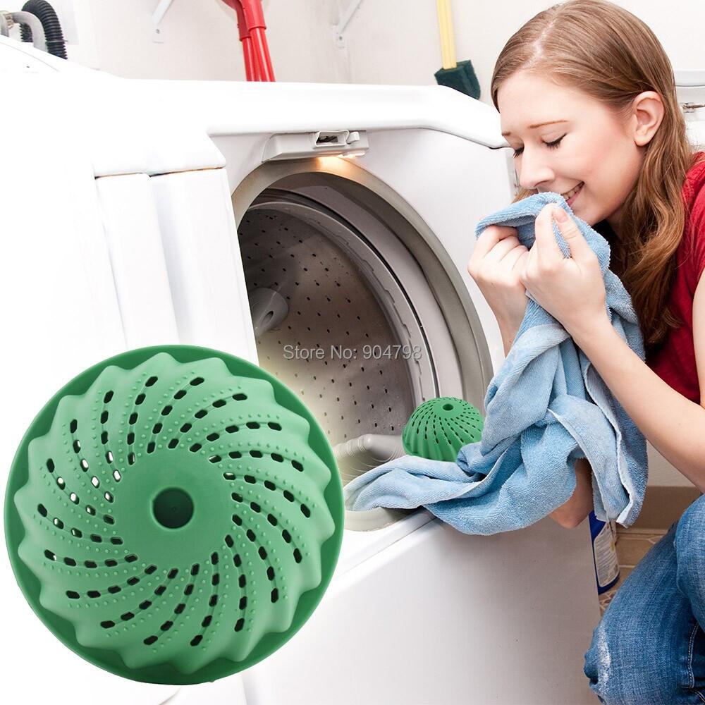 Eco-Friendly Anion Molecules Cleaning Cleaner Magic Washing Wash Laundry Ball(China (Mainland))