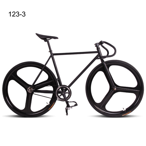 4color 52cm Frame DIY Man One Wheel Bicycle Bicicleta MTB Bike Road Bike Fixed Gear Bike(China (Mainland))