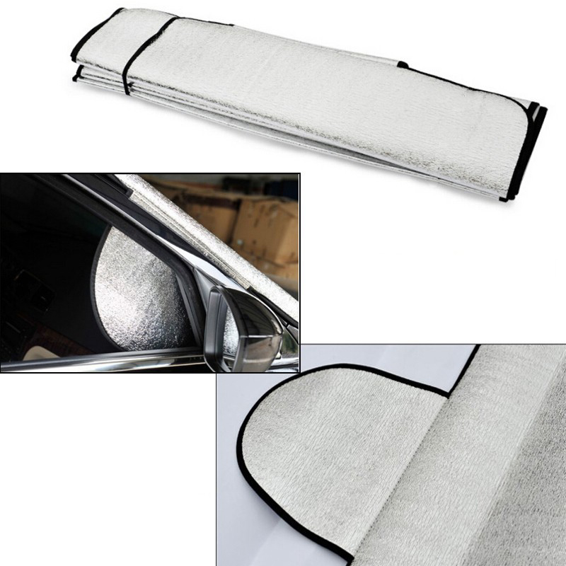 New Thicken Sun Snow Shade Car Windshield Visor Cover Block Front Window Sunshade Foils UV Protect Car Window Film Car Styling(China (Mainland))