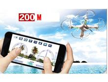 HuanQi 898B 2.4G 4CH 6-Axis FPV R/C Quadcopter/ Drone With wifi HD camera smartphone gravity induction control free shipping