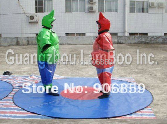 FREE Shipping HOT SALE Fantastic Sumo Wrestler suits /Adult Size/2 pcs/ALL Included/Quality for Rental Business(China (Mainland))
