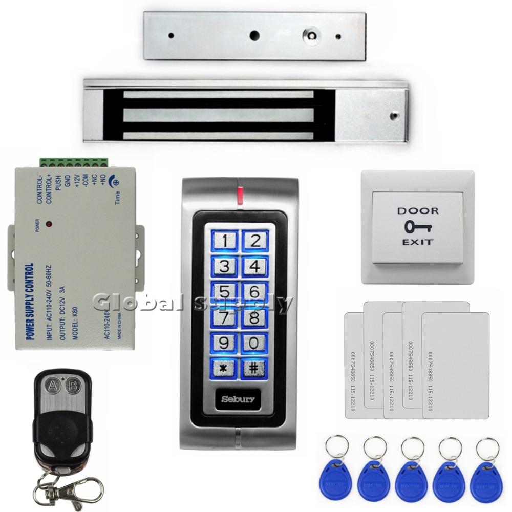 diy rfid 125khz id card password metal keypad access. Black Bedroom Furniture Sets. Home Design Ideas
