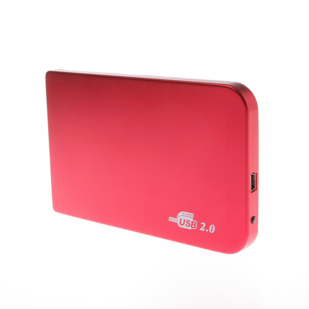 USB2.0 to 2.5 inch IDE HDD Enclosure Case, External 1TB HD Externo Docking Station Harddisk Box Caddy ( No Hard Disk Drive )(China (Mainland))