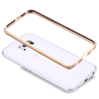 Etui plecki do Samsung Galaxy S6 G9200 / S6 Edge G9250 metalowa ramka