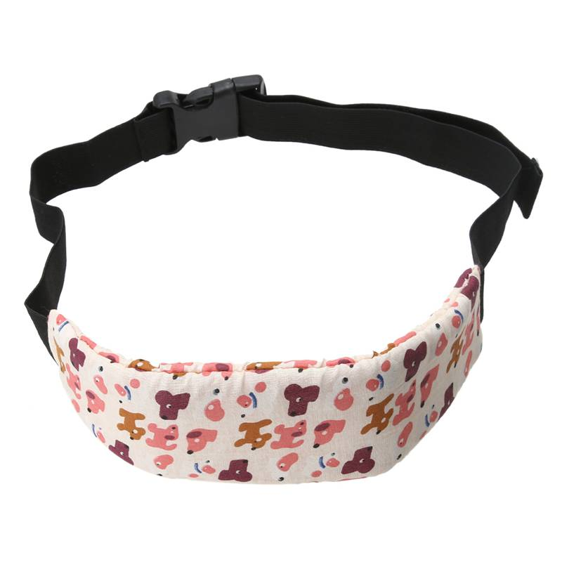 Hot Sale Car Safety Comfortable Seat Sleep Positioner Baby Head Support Pram Stroller Belt Adjustable size Random Color