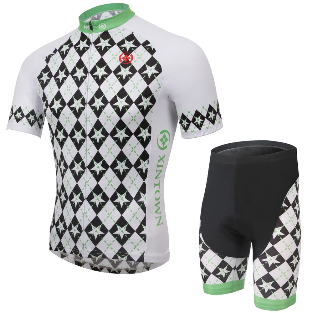 Men Cycling Jersey Sets Short Sleeve Mtb Clothing Masculino Ropa Ciclismo Bicycle Bike Sportswear and Shorts Kit Charger(China (Mainland))