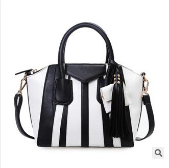 Women Leather Handbags Spring 2015 Large Designer Brand Fashion Bags Tote Brand Name Handbag Women Bag(China (Mainland))