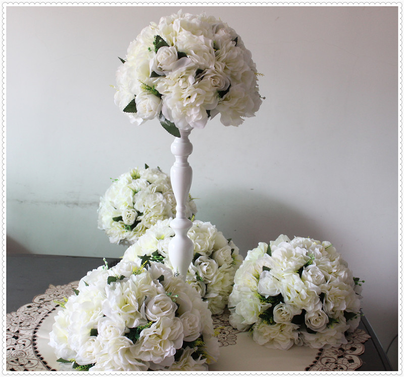Wedding Centerpieces Flower Balls : New free shipping pcs lot wedding road lead artificial