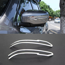 1 Pair Car Styling Rearview Mirror Decoration Trim For Nissan Qashqai J11 2nd 2014 2015 2016 ABS Exterior Trim High Quality(China (Mainland))