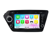Wince 6.0 MT3360 3G WIFI HD 1080P Car DVD Player GPS Navigation System Radio Stereo For KIA K2 RIO 2010 2011 2012 2013 2014