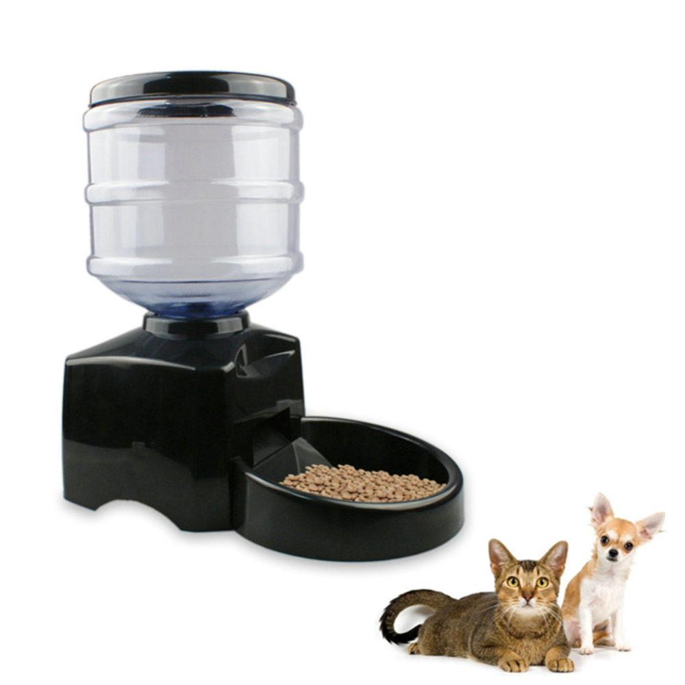 Automatic Pet Feeder Programmable Timer Food Station Dispenser Container for Dog Portion Control Voice Recording(China (Mainland))