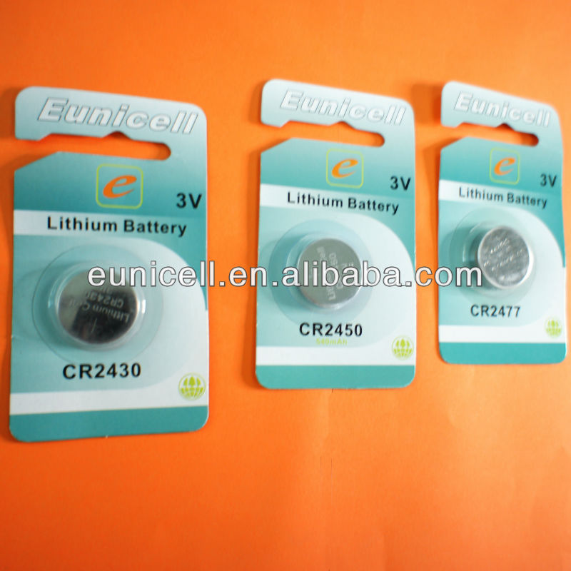Super quality 2000cards x 1pc blister card CR3032 3V lithium button cell battery wholesale free shipping cost(China (Mainland))