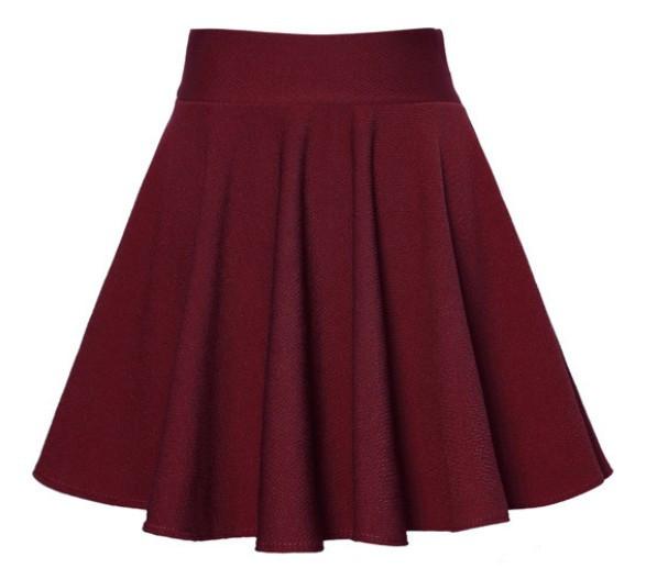 fashion high waist for elastic mini skirts