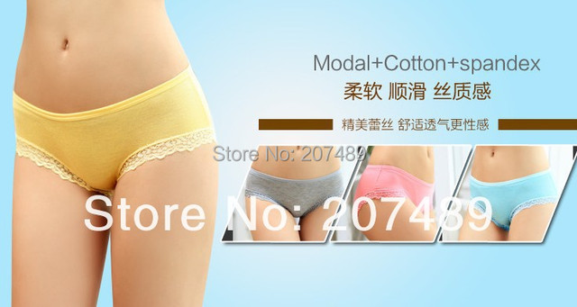 drop shipping Mulit color lace sexy women ladies girls waist 23-29inch mid-rised panties shorts briefs underwear Lingerie whcn+