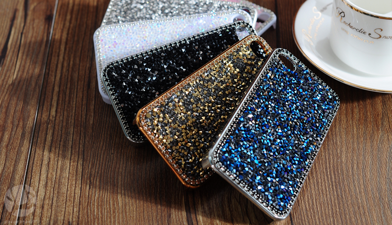 28 1pcs 4.7 inch Case For iphone6 case for iphone6 plus 5.5 inch Hot Fashion Luxury Diamond Flashing Cell Phone Cases Covers For apple iphone 6 case iphone 6 plus case accessories