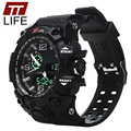 TTLIFE Watch Men Sports Electronic Digital LED Mens Watches 50M Water Resistant Running Army Military Wrist