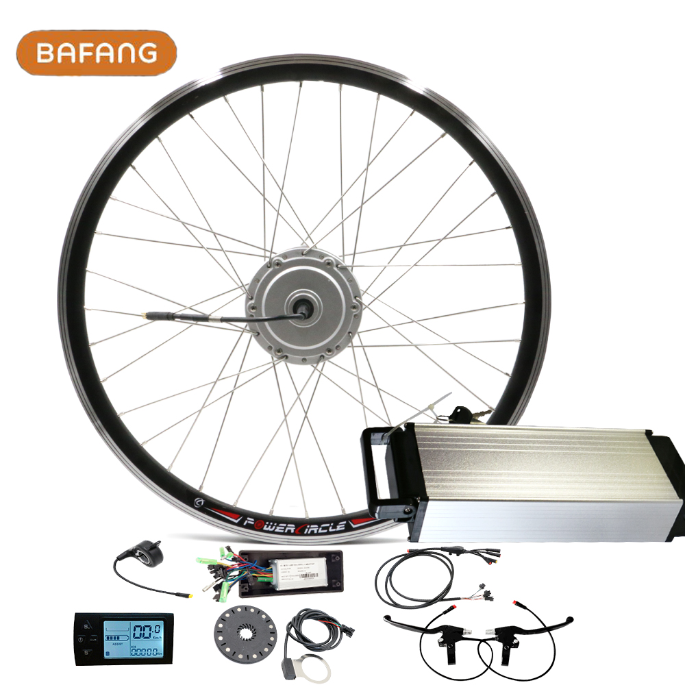 "Bafang Motor Wheel for Bike Electric Bicycle Conversion Kit with 36v 10ah / 12ah Battery For 26"" Rear Front Wheel 8fun Sets(China (Mainland))"