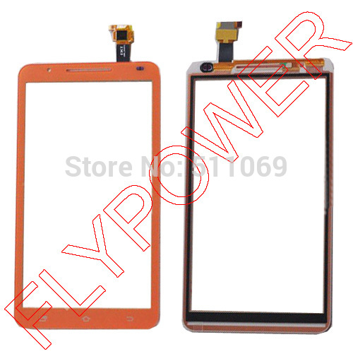 for Star Note2 N9776 MTK6577 Touch Screen Digitizer panel glass orange by Free Shipping(China (Mainland))