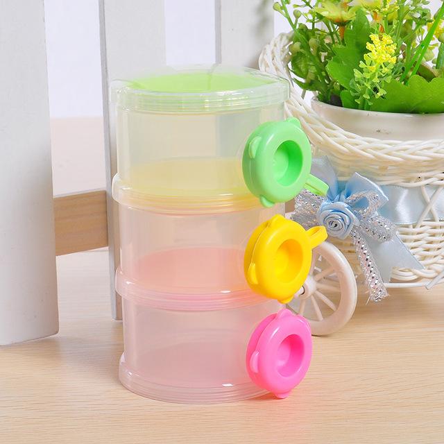 Детские сухое молоко контейнер коробка еды портативный младенческой детское молоко ...