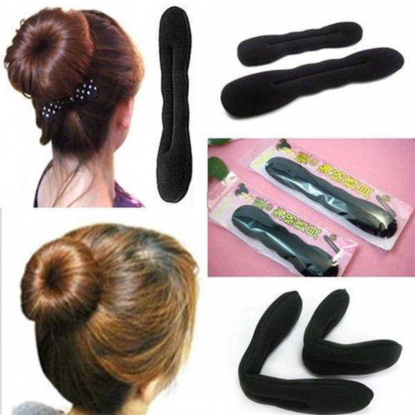 2pcs Women Accessory Styling Tool Braid Holder Clip Bun Hair Twist Wholesale(China (Mainland))