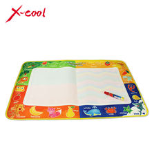 Free shipping XC8809 49X73.5cm Water Magic Doodle Mat &1 Magic Pen / Water Drawing Mat / Water drawing rug(China (Mainland))