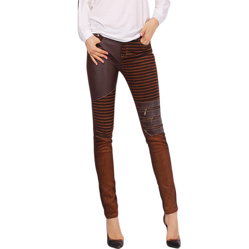 Perfect Brown Leather Pants For Women  Galleryhipcom  The Hippest Galleries
