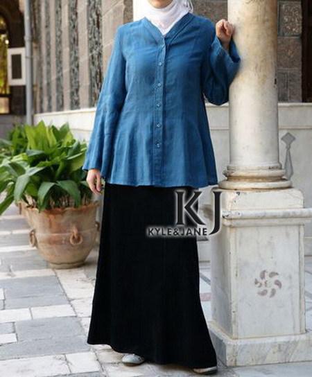 2 farben Lose langärmelige V kragen kurzen Tops für frauen mit tasten Plus Größe kyle & jane casual kleid KJ-TOPS10046(China (Mainland))