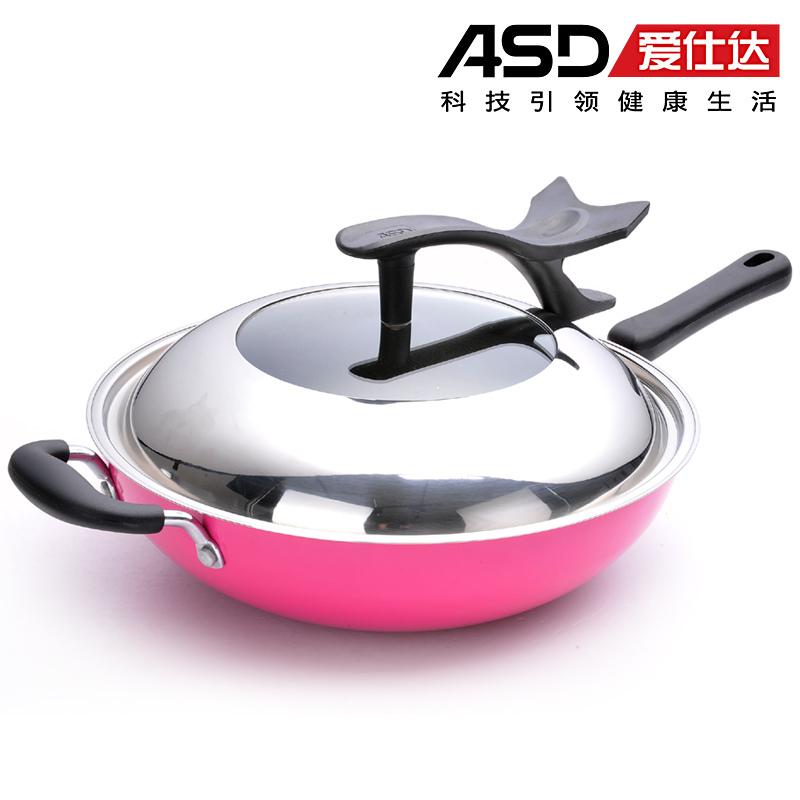 Nueva llegada wok buzhanguo llama abierta horno for Cocinar wok en casa