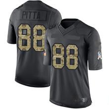 Men's #88 Dennis Pitta Black Alternate Elite Autographed Football Jersey 100% stitched(China (Mainland))