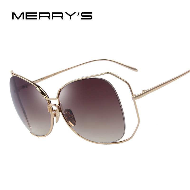 Big Frame Sunglasses : Aliexpress.com : Buy MERRYS Fashion Women Cat Eye ...