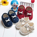 baby shoes newborn kids girls boys spring autumn flower print soft outsole cotton fabric 0 3
