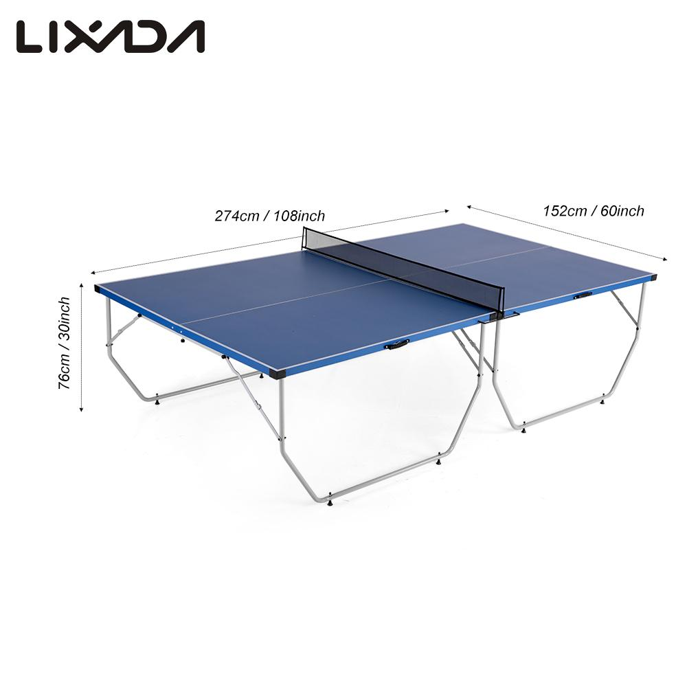 Popular folding table tennis buy cheap folding table for Costruire tavolo ping pong