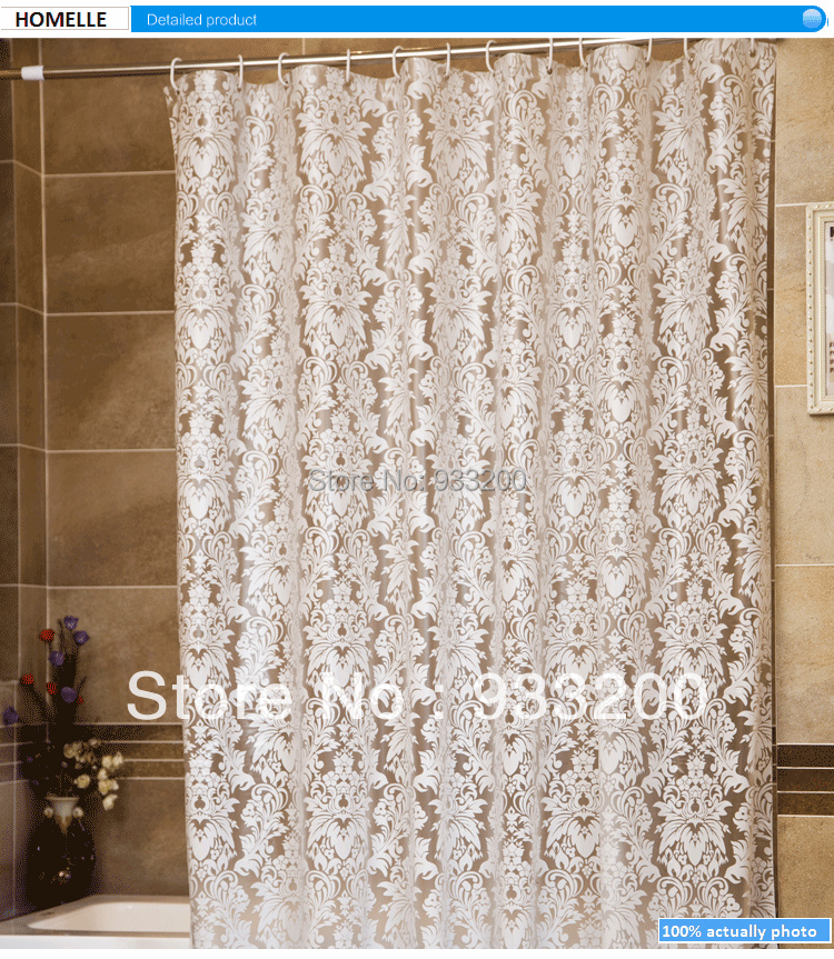 buy 02hv modern waterproof shower curtain