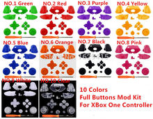 GameMod Custom Replacement ThumbSticks RT LT Triggers RB LB Bumper DPad ABXY Guide Buttons Mod Kit For Xbox ONE 1 Controller