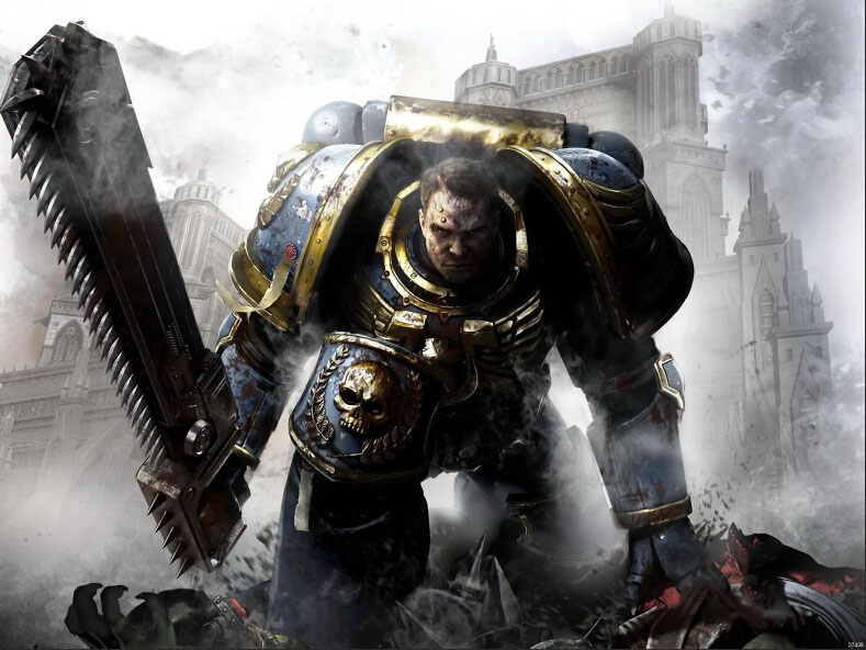 Warhammer 40000 Space Marine 40K Art Huge Print Poster TXHOME D7439(China (Mainland))