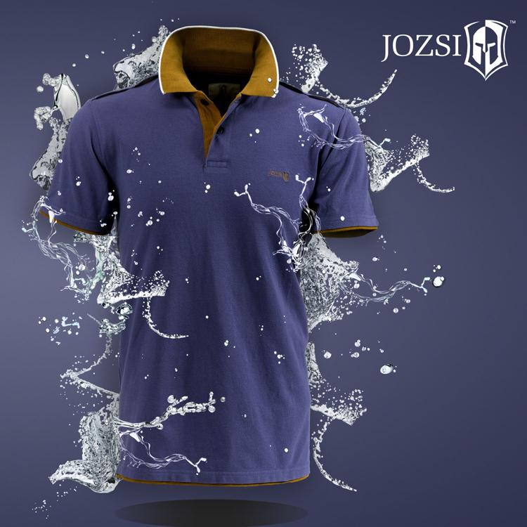2015 new summer style brand JOZSI outdoor sport POLO shirt free breathing T shirt camping hiking ourdoot shirts(China (Mainland))