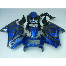 Buy Injection molded Fairing kit Kawasaki ninja 250r 2008-2014 fairings EX250 08 09 10 11 12 13 14 blue black aftermarket RR1 for $335.80 in AliExpress store