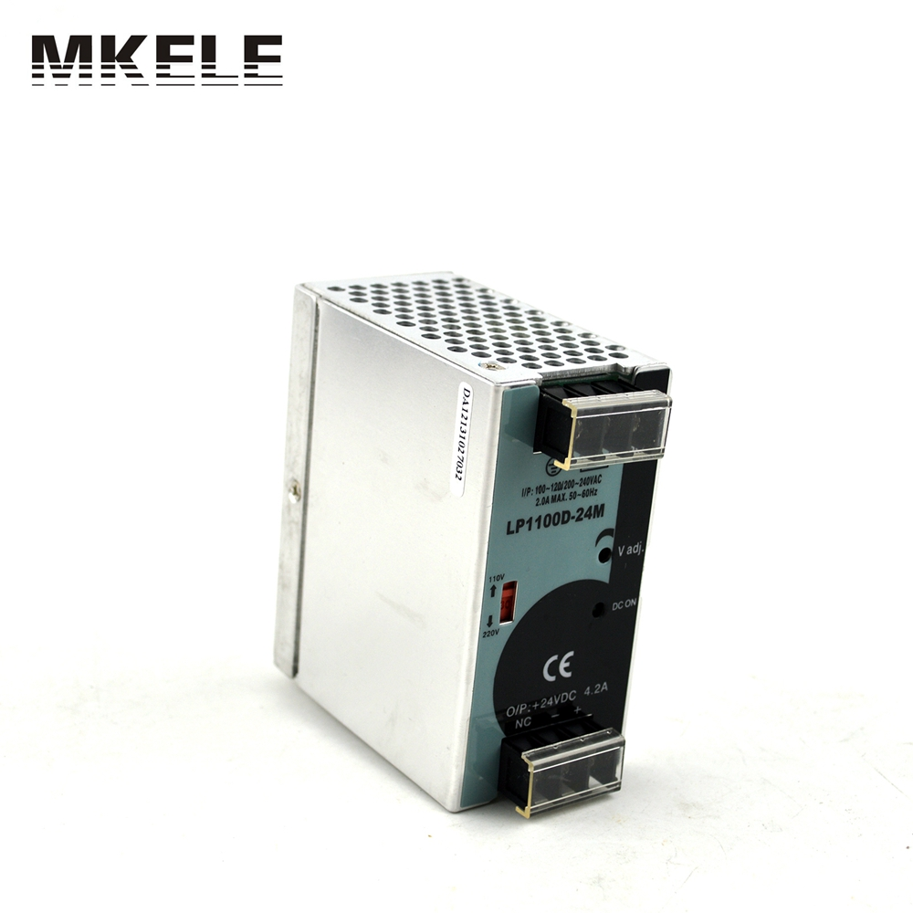 micro size 100w 24vdc output din rail smps din rail power supply 24v LP-100-24 4.2a 100W with CE(China (Mainland))