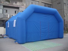Blow Up Tent Inflatable Building With Advertising Arch Front(China (Mainland))