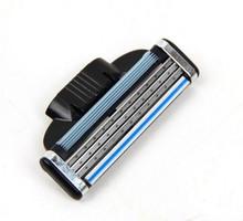 Brand New 4 Pcs Lot 3 Blades Men s Face shaving Razor Blades shaver blades For