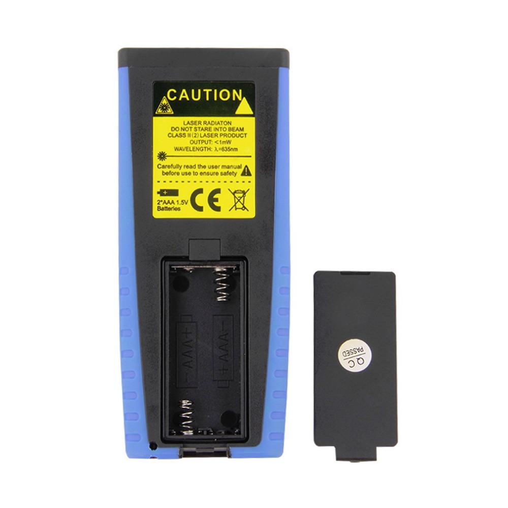 1pcs 100m 328ft Digital Laser Distance Meter Measure Range Finder Area Volume Hot Worldwide