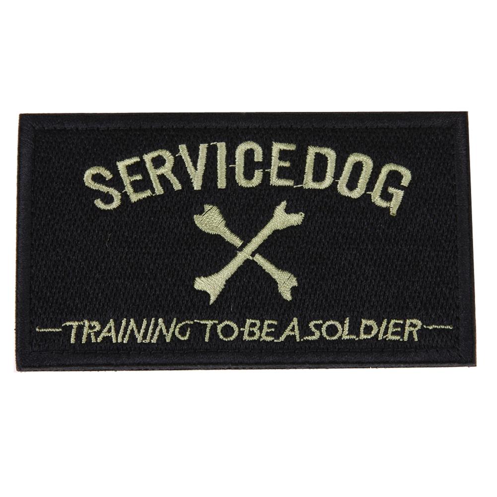 Army service dog vest patches