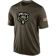 Men Walter Jim Payton McMahon Leonard Jay Floyd Cutler Alshon Jeremy Jeffery Langford Salute To Service Legend Performance Shirt(China (Mainland))