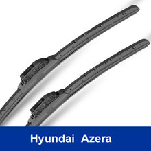 High Quality Brand New Auto Replacement Parts car decoration accessories The front windshield wipers for Hyundai Azera class