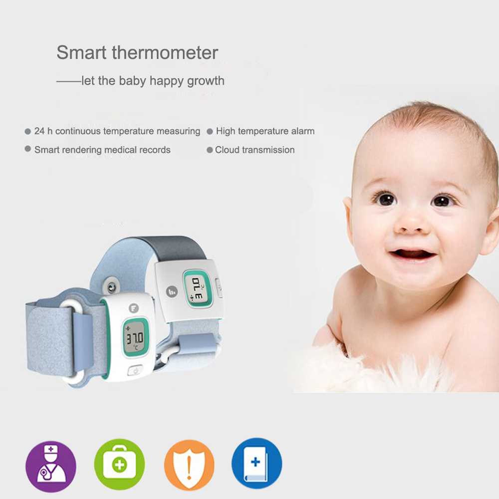 Baby health smartband wearable devices smartwach electronic bluetooth smart baby monitor fitness tracker thermometer(China (Mainland))