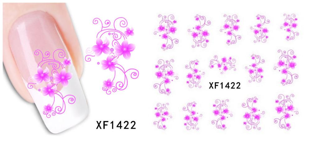 XF Selling 2 Million Watermark Nail Sticker Nail Polish Companion Thousands Of Models Optional SZ86(China (Mainland))