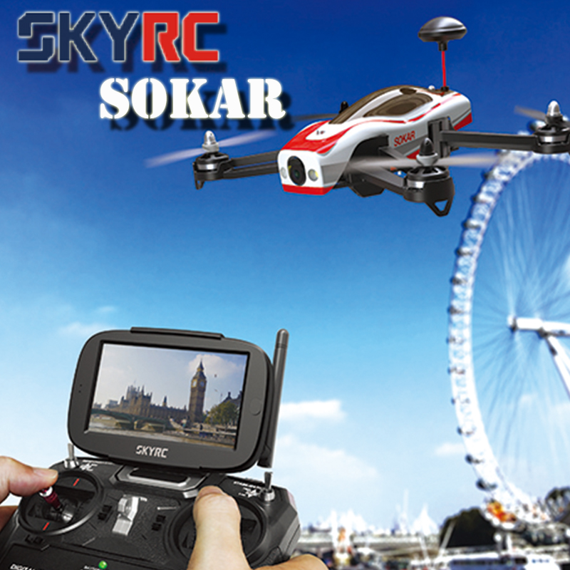 Newest SKYRC SOKAR 2.4G 4CH RTF Helicopter FPV Drone with Camera HD RC Quadcopter vs Walkera Runner 250 Fast Shipping(China (Mainland))