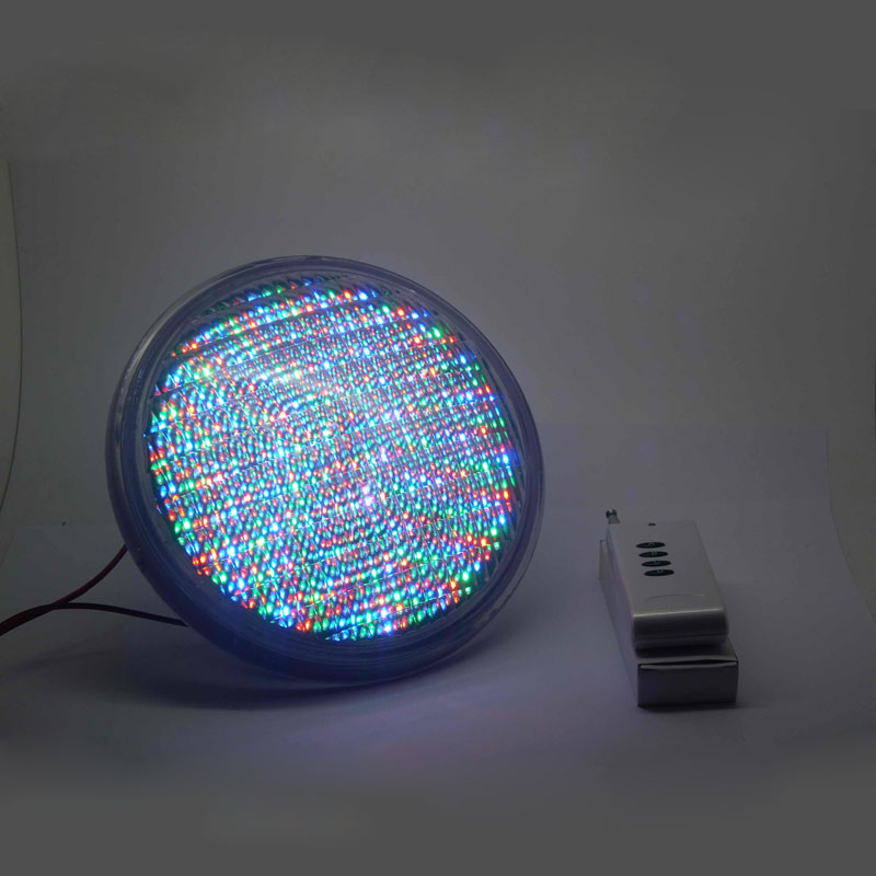 LED Par56 Lamp of PVC+ABS Material 54W UnderWater light AC12V for your Pool Fountain Garden Backyard(China (Mainland))